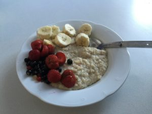Bowl of Porridge - World Porridge Day - Jersey Dairy