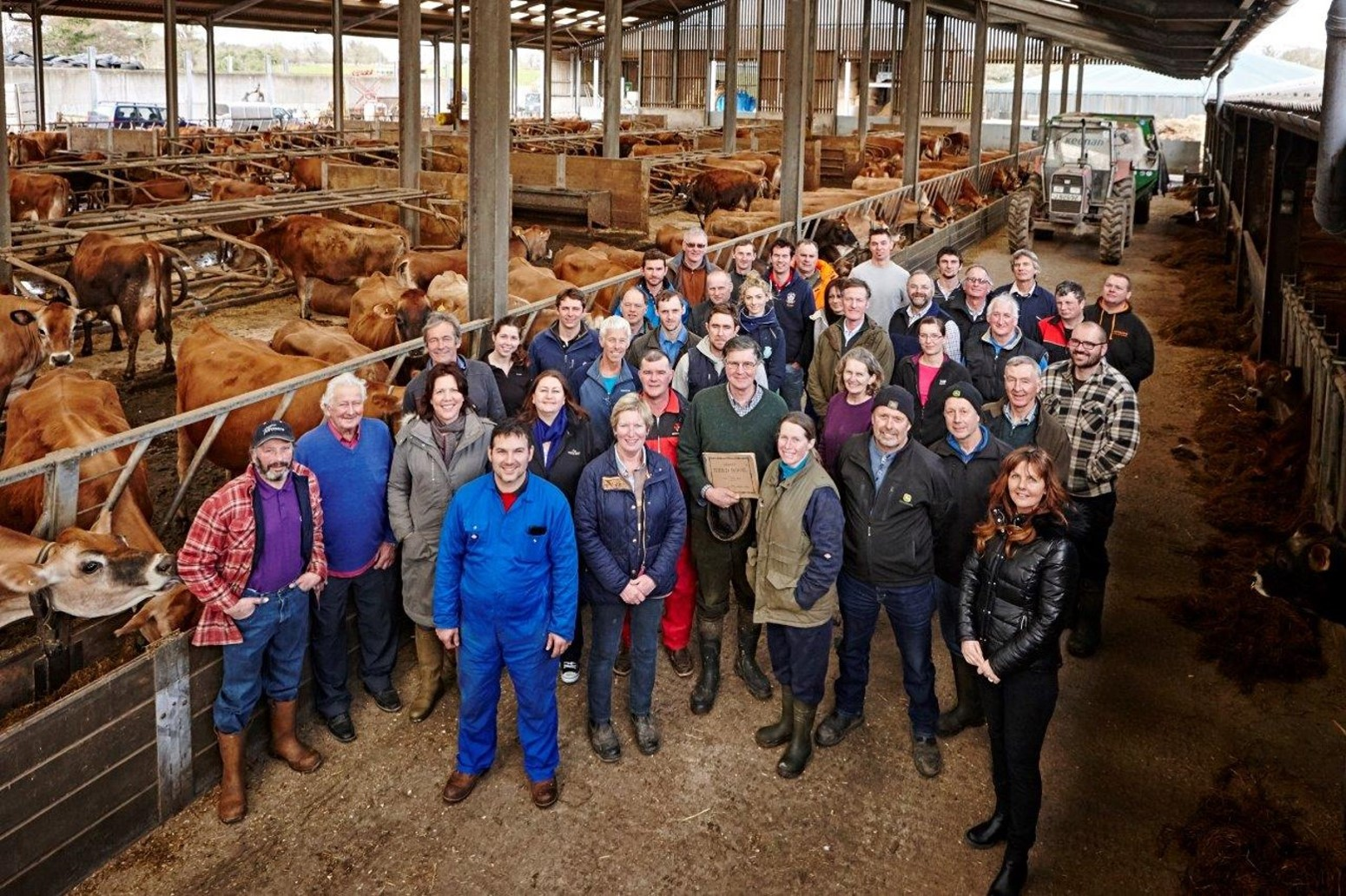 Profile photo of Jersey Dairy farmers in 2013 get together to celebrate 250 years of pure quality!